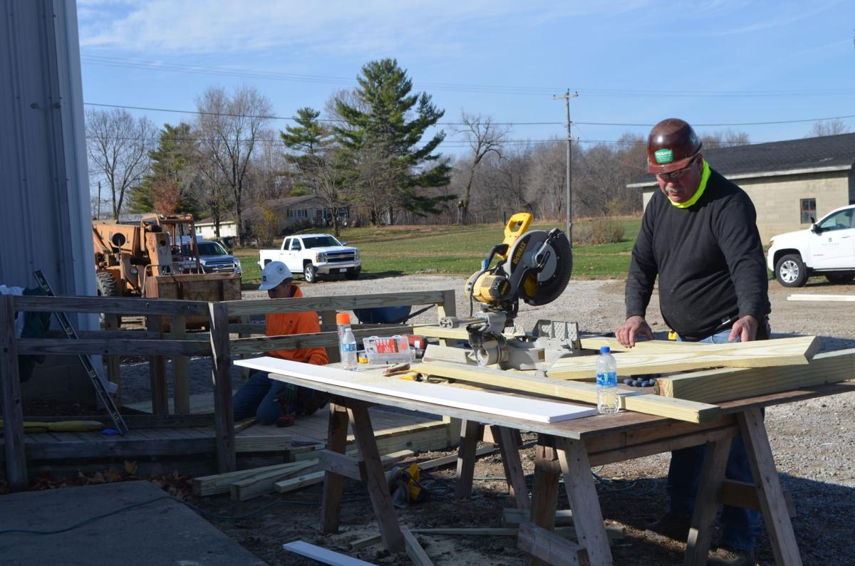 Accessibility ramp makeover