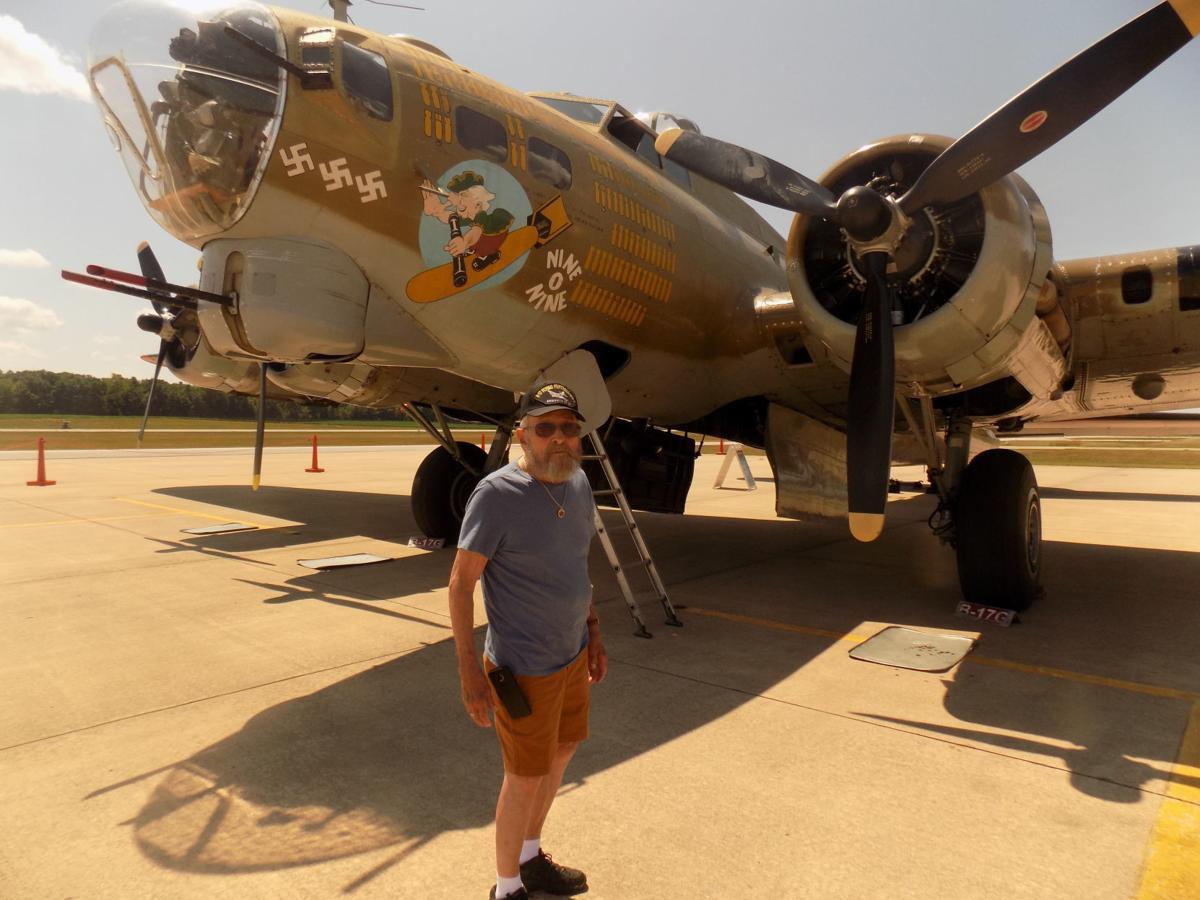 B-17 at DeKalb County Airport