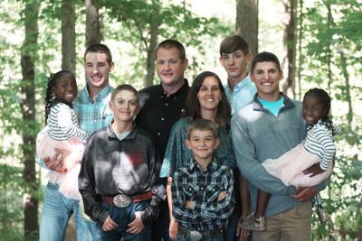 Tiffany Parks and family