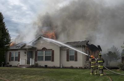 Fire destroys LaGrange County home   News Sun   kpcnews com