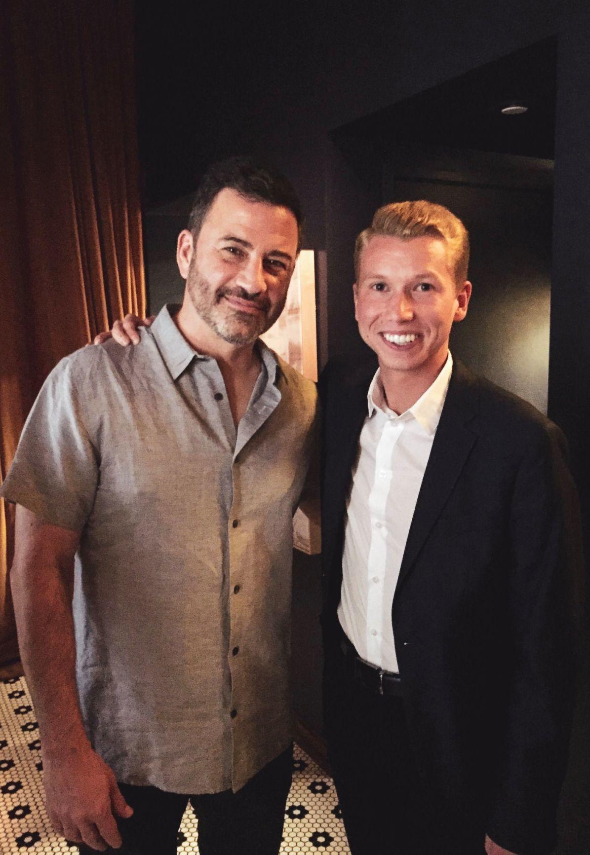 Jimmy Kimmel and Jonathon Kane