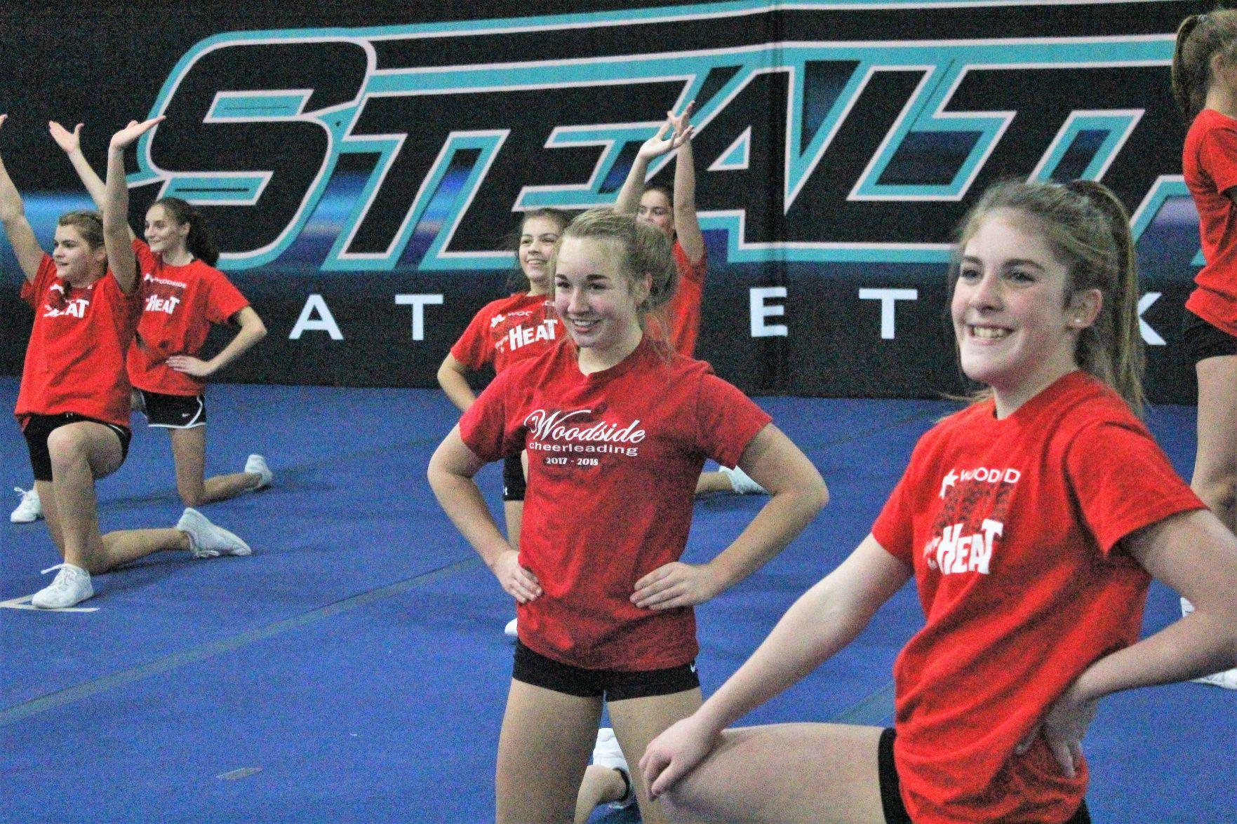 Youth Running Shorts Jocelynn Girl Cheer Practice Shorts