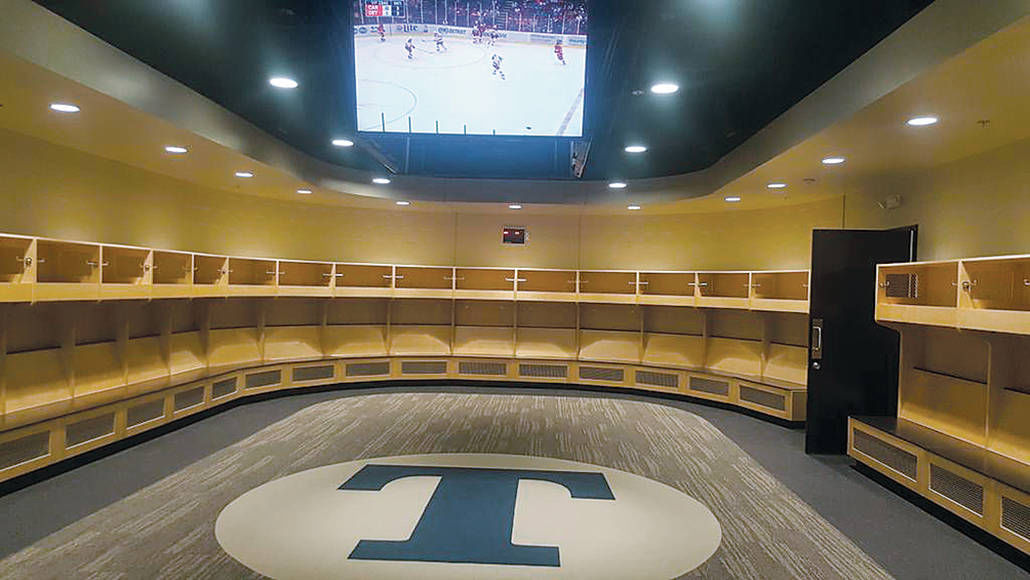 Trine shows off new Thunder Ice Arena | Eveningstar ...