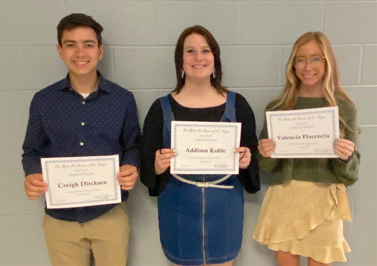 Tri Kappa awards