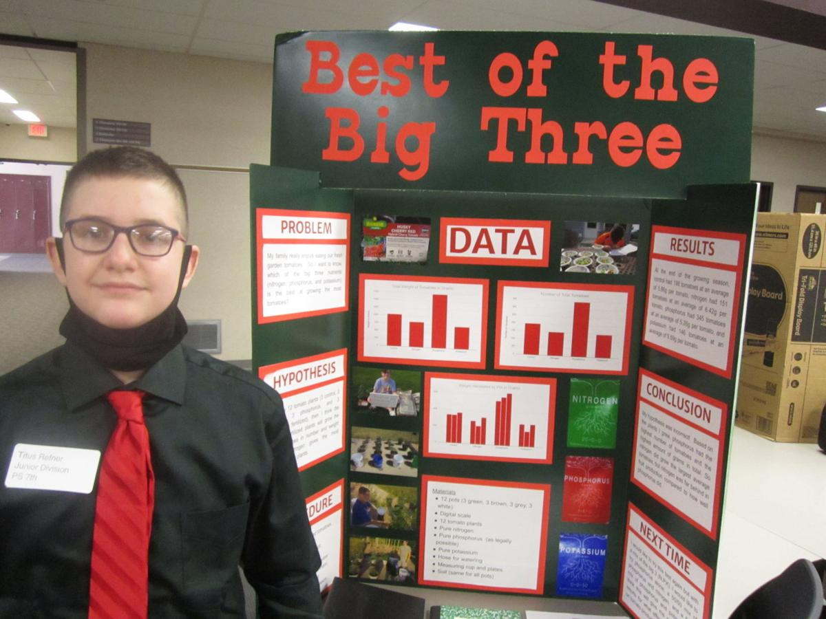 Titus Refner, DeKalb Central Science Fair