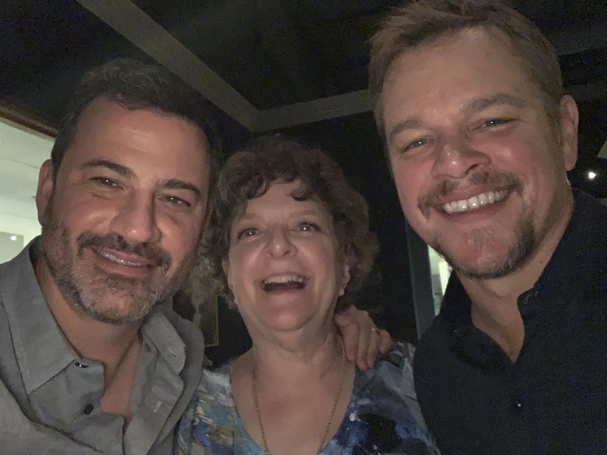 Cathie Kreigh Jimmy Kimmel Matt Damon