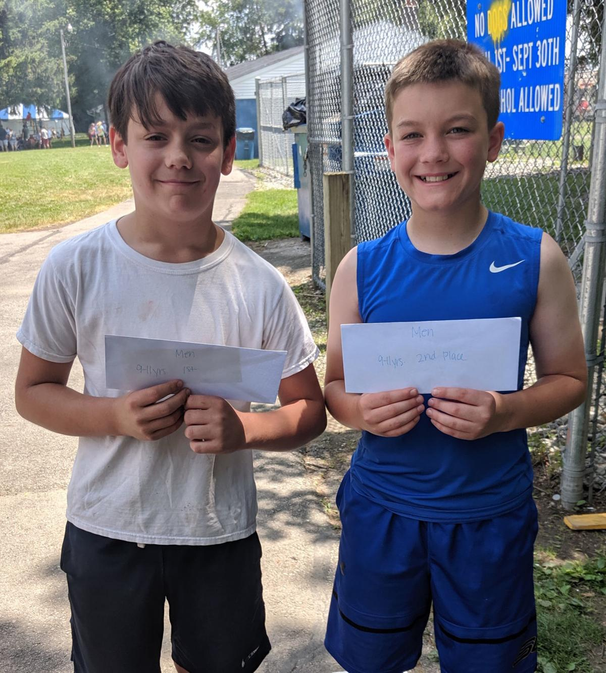 Boys age 9-11 years