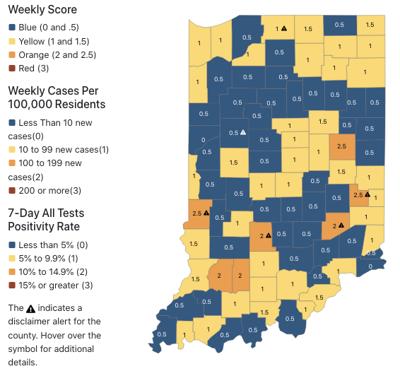 County rankings Sept. 9