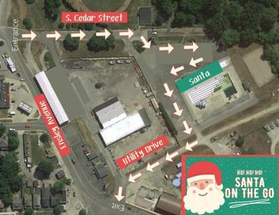santa on the go map