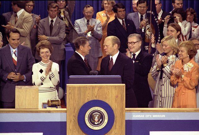 Ford, Reagan,Rockefeller