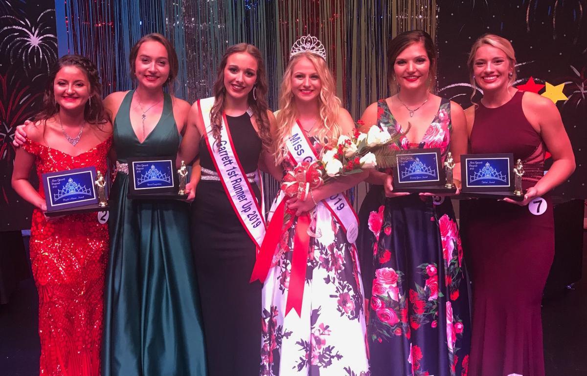 Miss Garrett 2019 award winners