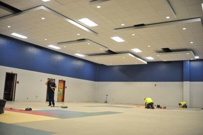 Oak View cafeteria