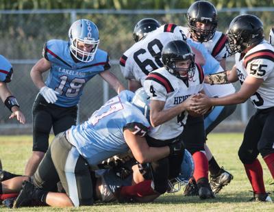 Prairie Heights vs. Lakeland football