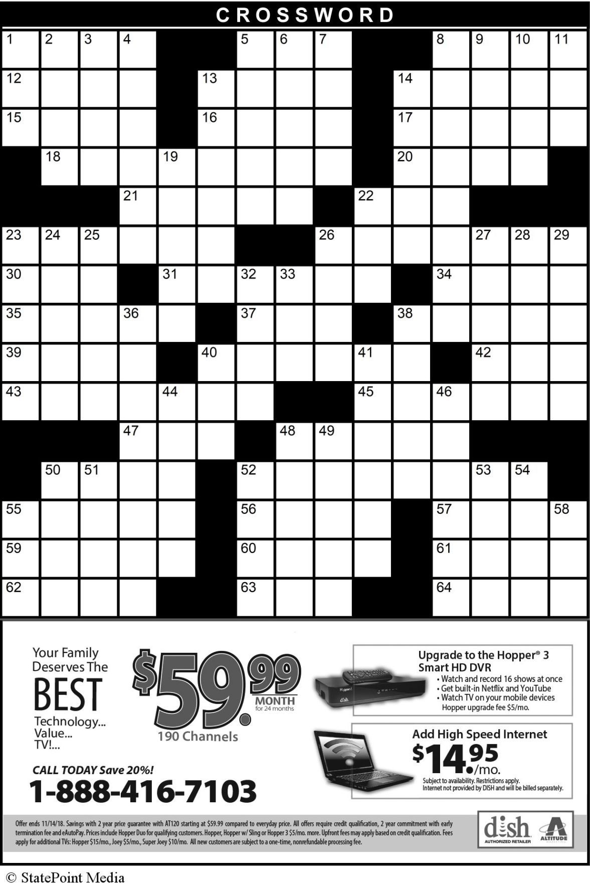 STATEPOINT CROSSWORD