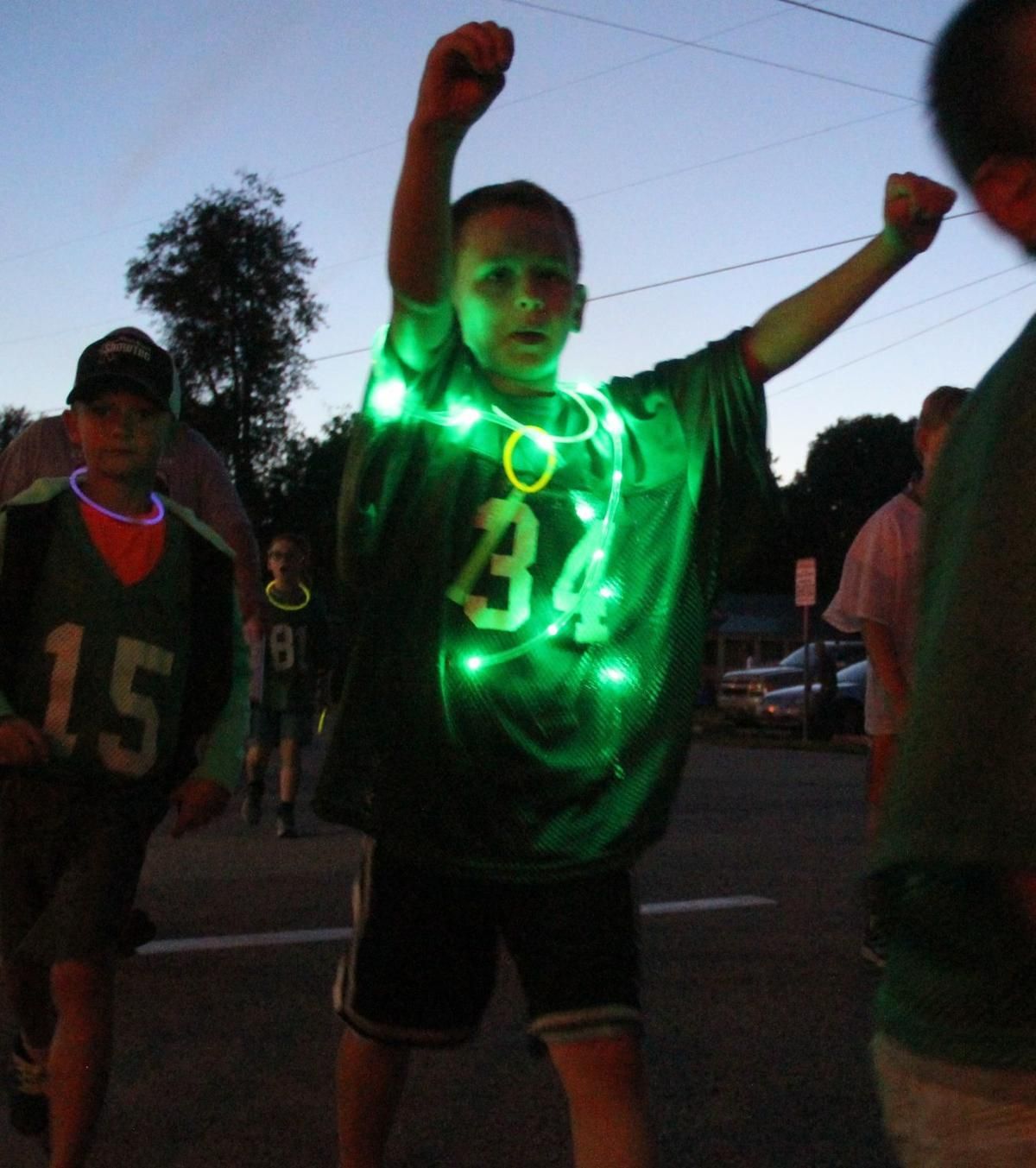 Butler Days light parade