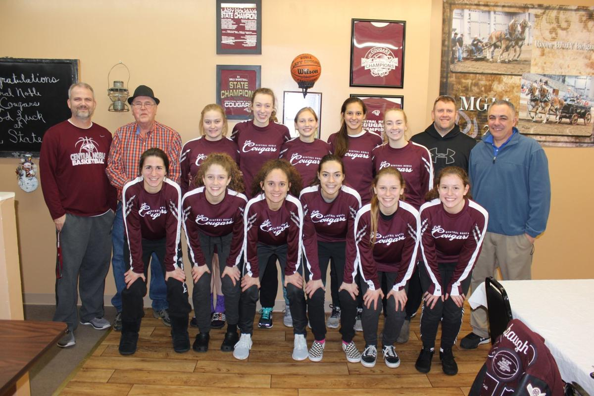 Albion community comes together for new girls basketball warmups