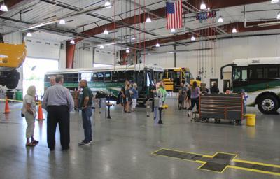 New DeKalb Eastern bus garage