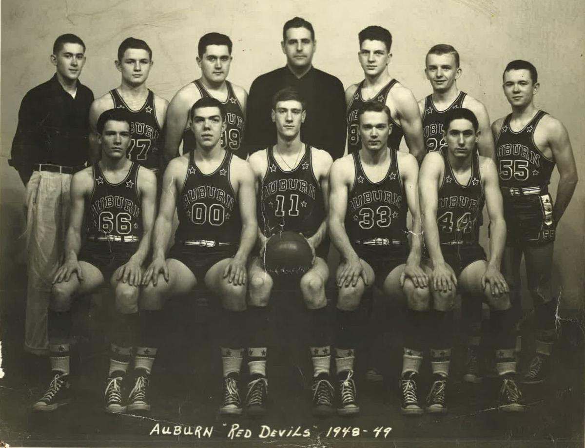 Auburn Red Devils 1949 state finalists (copy)