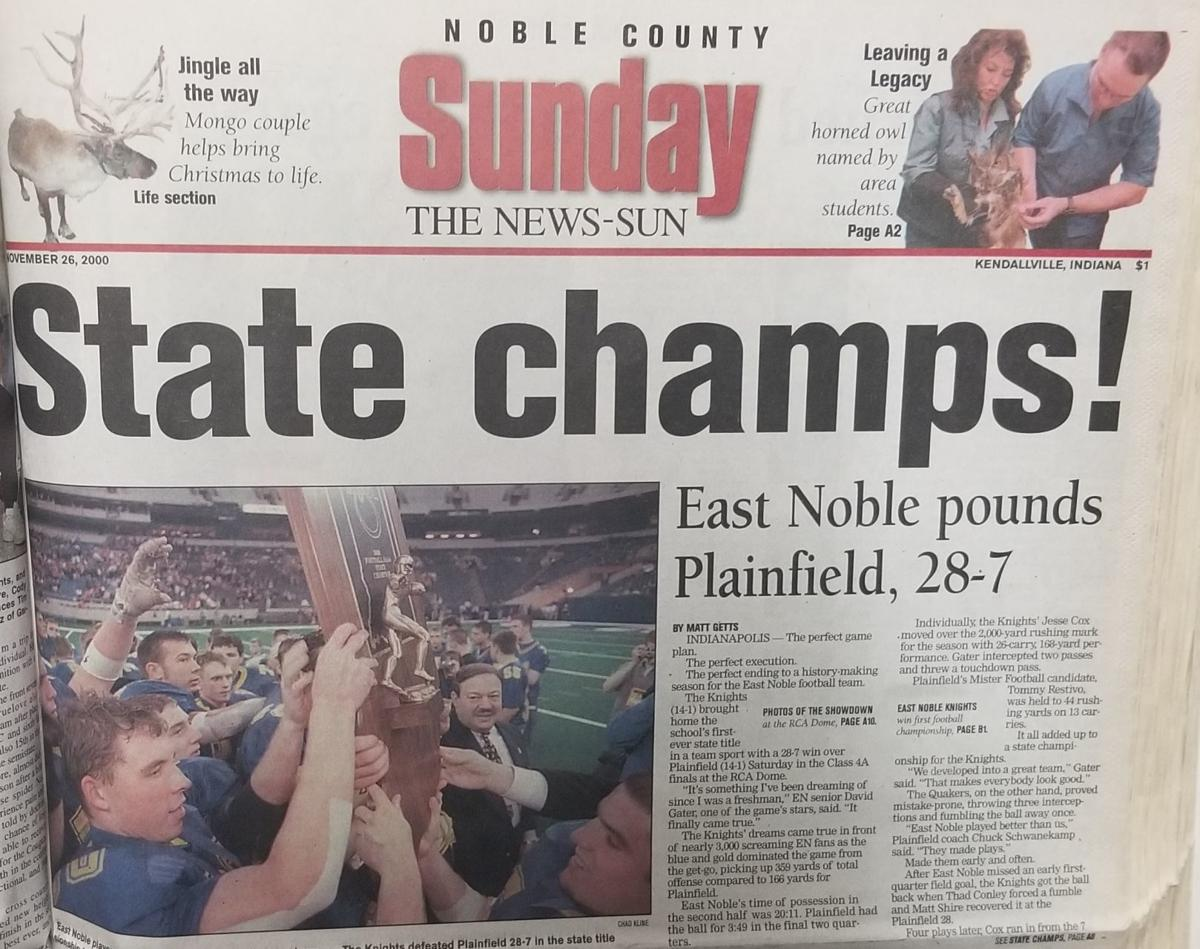 2000 state title