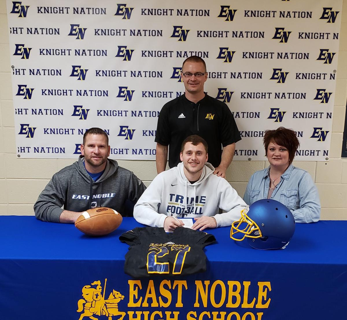 Harshberger commits to Trine football