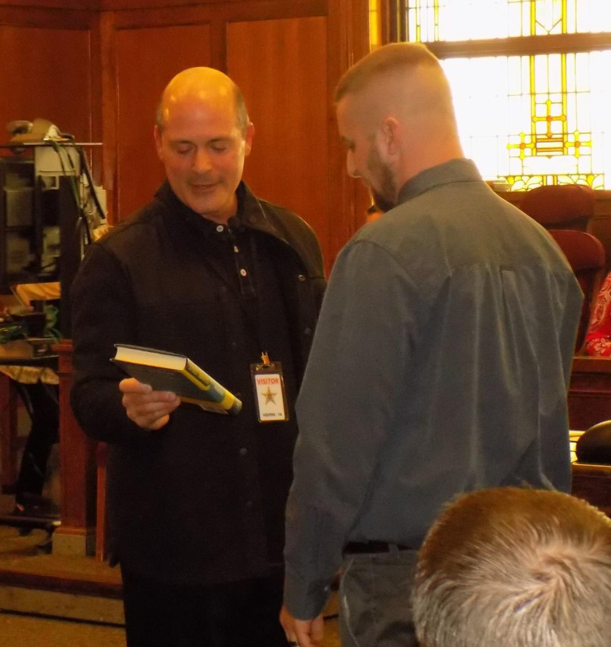Veterans court graduate Matthew