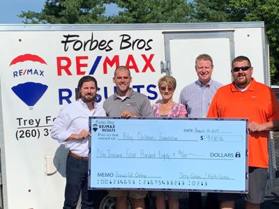 Golfers raise funds for Riley