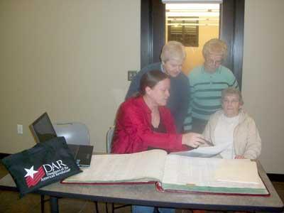 NSDAR - genealogy