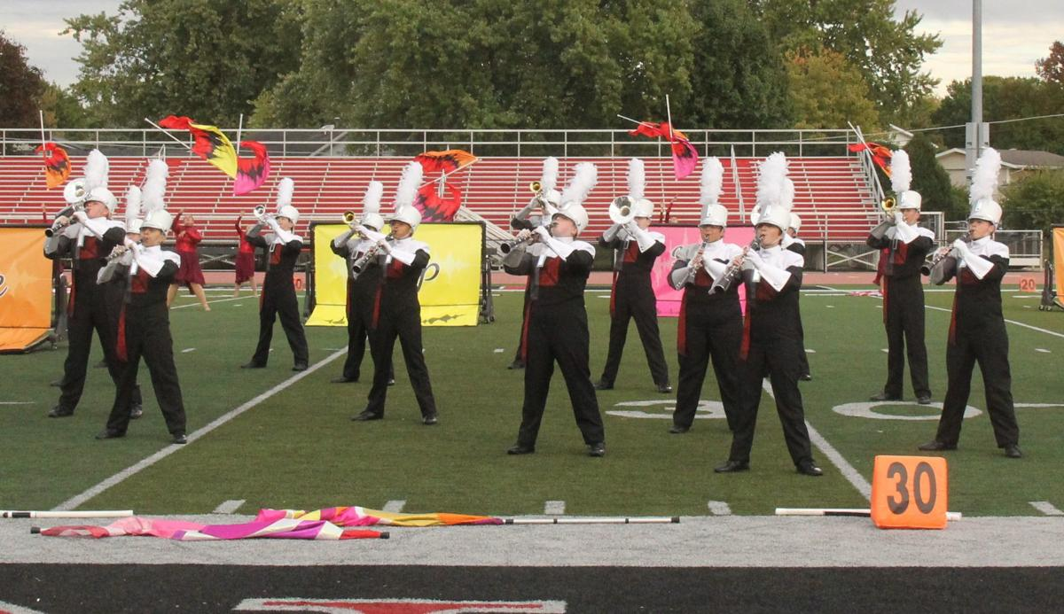 DeKalb band performs at regionals