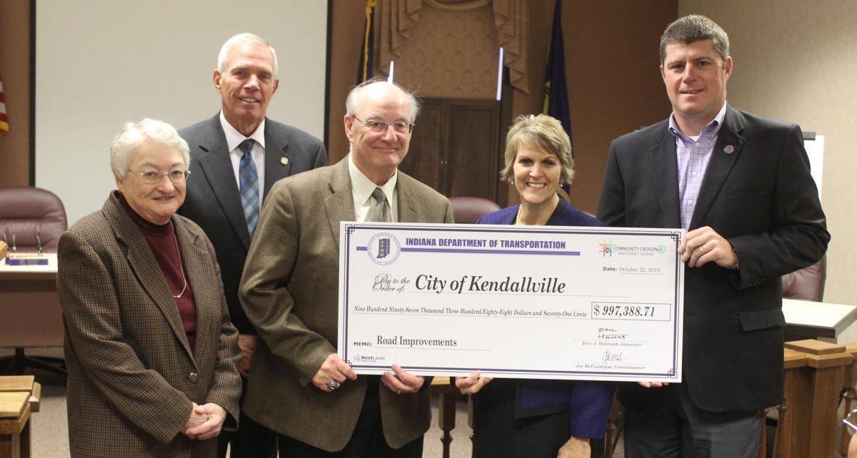 Kendallville's nearly $1 million