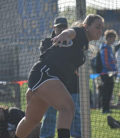 Churubusco's Chassy Gallmier in the discus