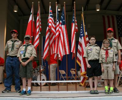 Flag Day at the DeKalb Outdoor Theater