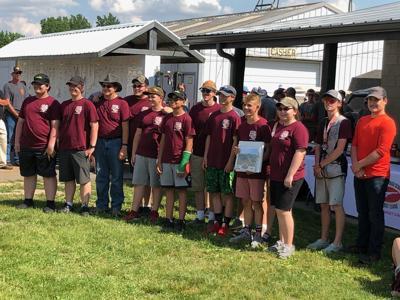 CN trap shooting team