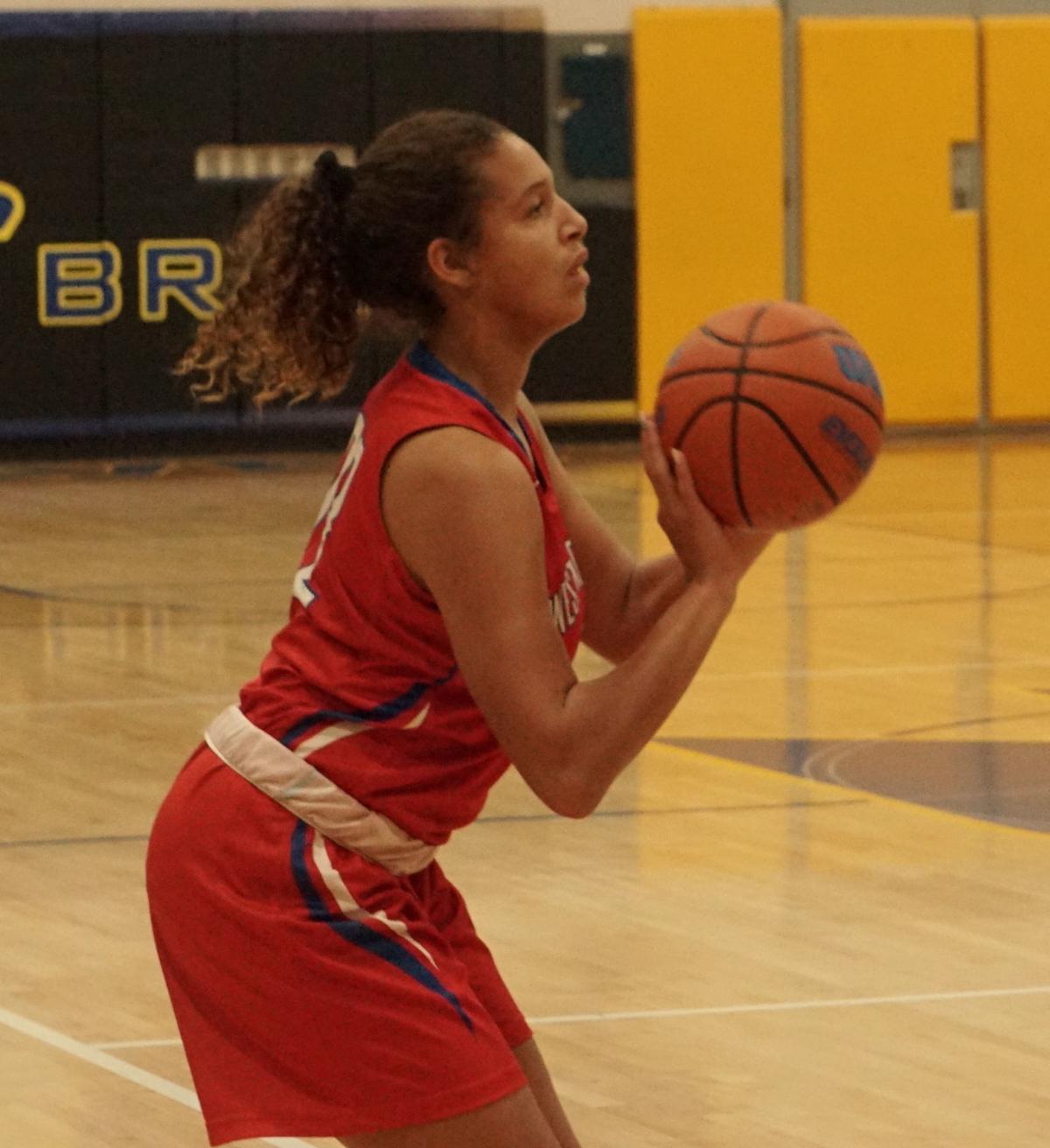 West Noble sophomore Jazmyn Smith