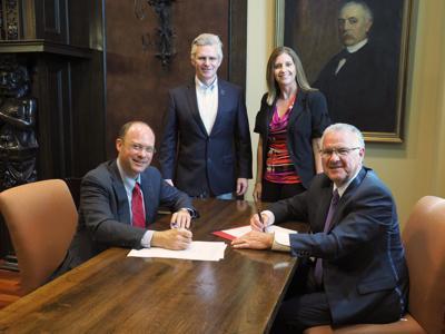 Law school partnership