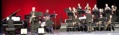 DeKalb High School Jazz 1 band