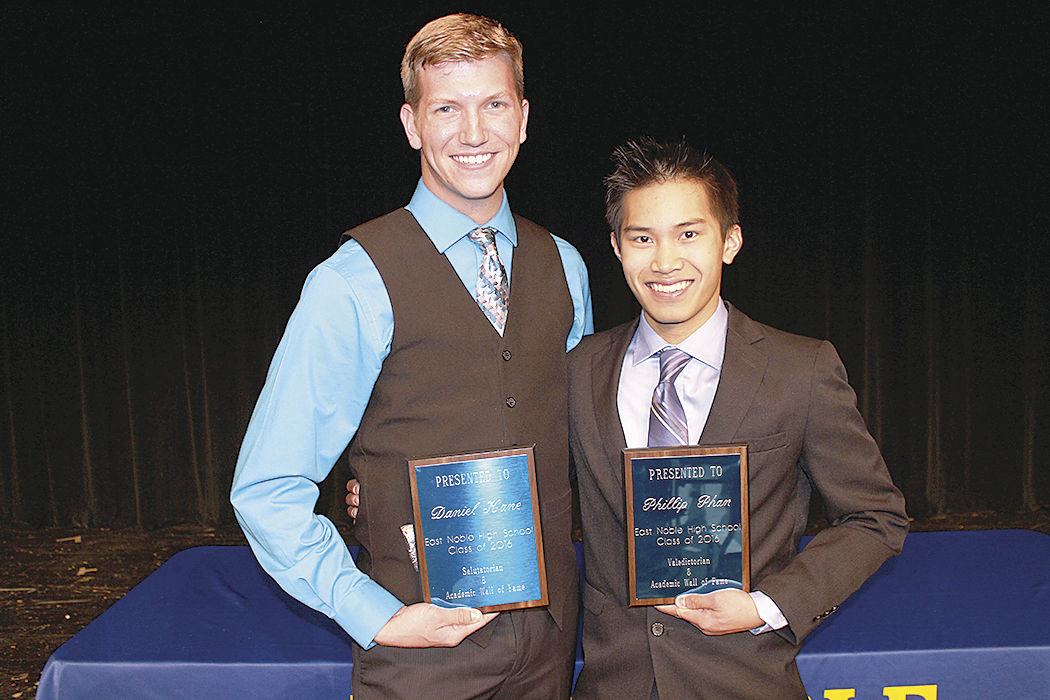 A night for East Noble academic stars to shine