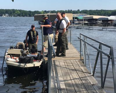 Officers recover body of missing wakesurfer