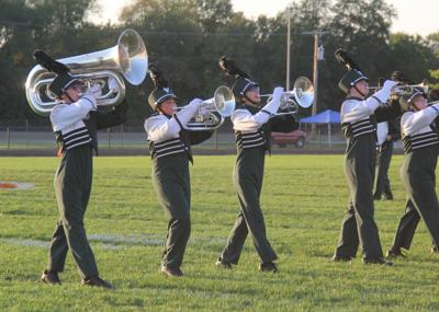 Eastside band places third