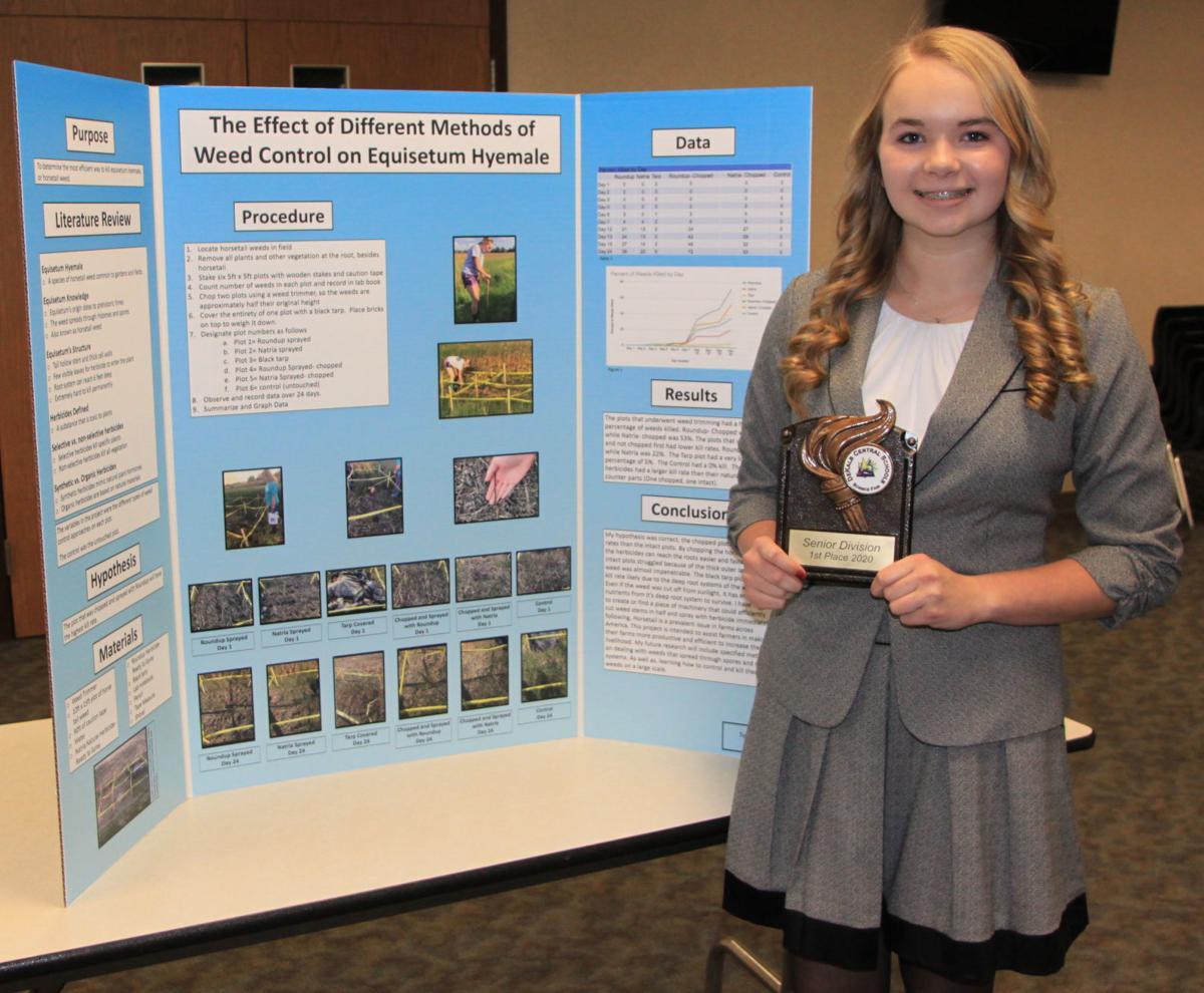Hefty takes top prize in DeKalb Science Fair