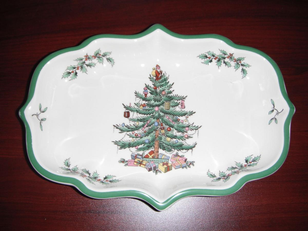 Spode holiday platter