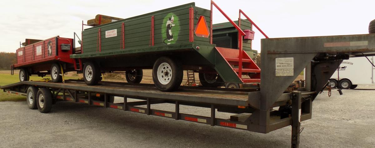 Double wagon trailer