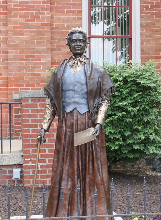Truth statue