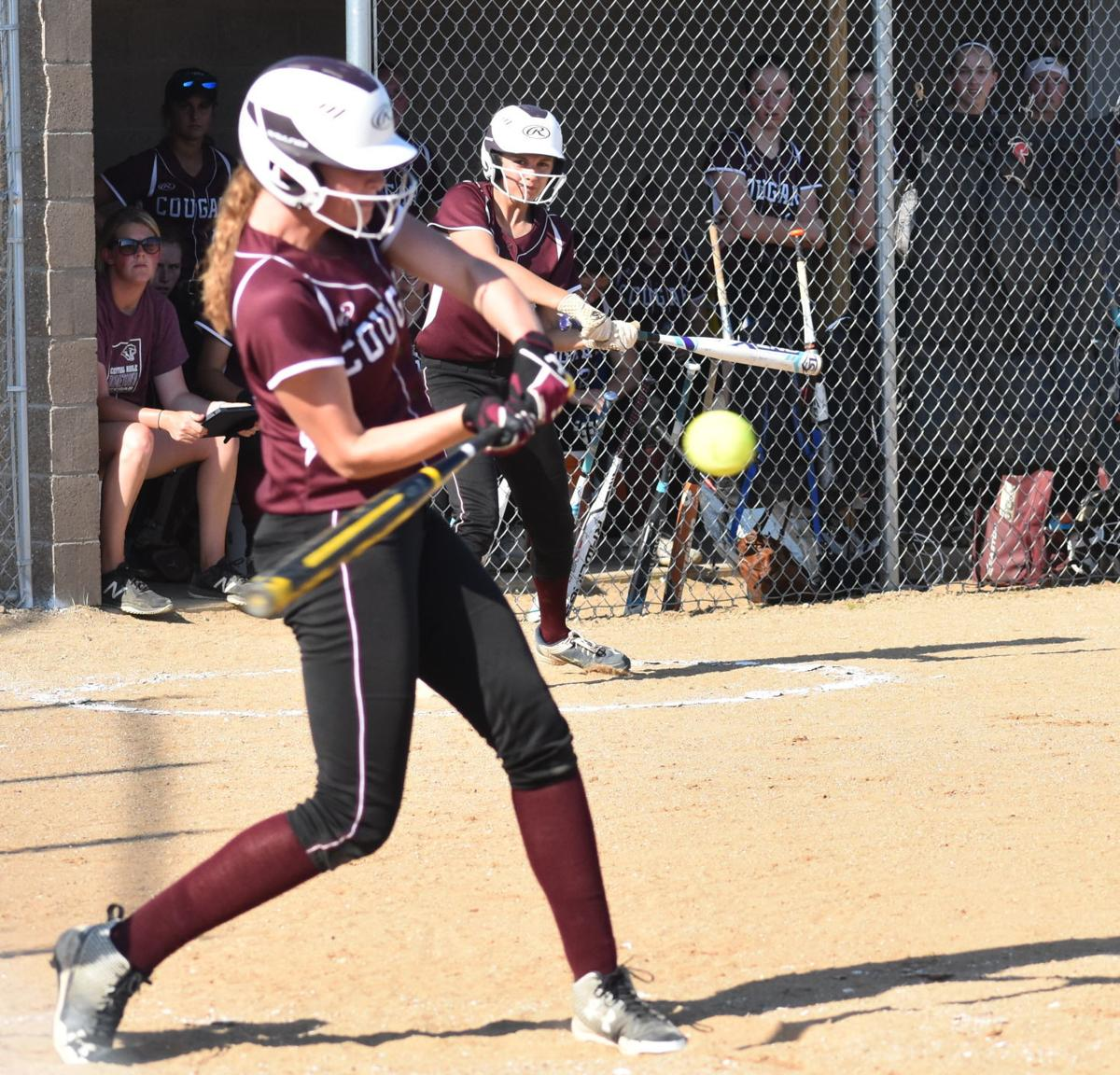 Image result for central noble cougars softball kpc news