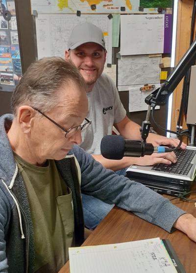 Ham radio Dave Fulk, Mike Zumbaugh