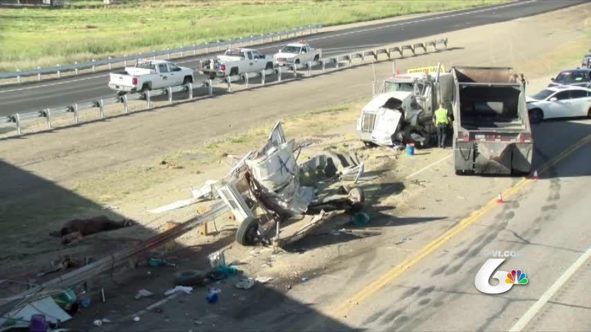 Fatality crash on I-15