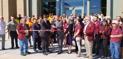 Governor Brad Little at the Chubbuck City Hall Ribbon Cutting Ceremony