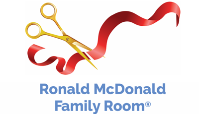 Ronald Family Room Ribbon Cutting