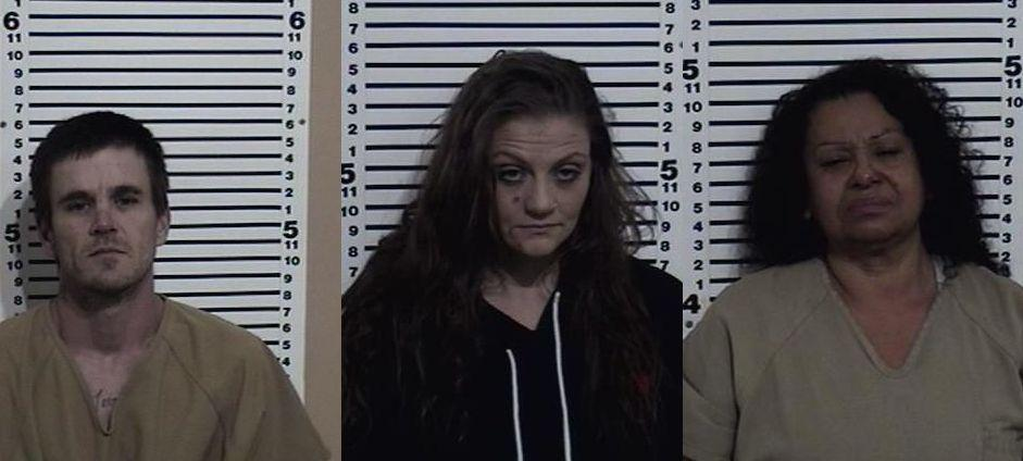 Three arrested on drug related charges in Bonneville County