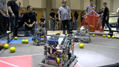 Vex Robotics Competition Hosted By Isu Robotics Club News Kpvi Com