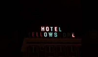 Hotel Yellowstone Neon Sign